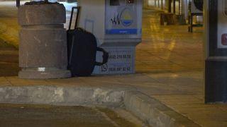 Erciş'te şüpheli  valiz polisi alarma geçirdi