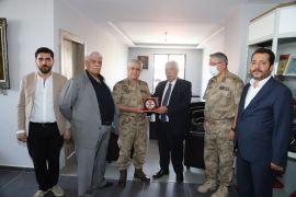 Orgeneral Çetin'den Paşa Kurşunluoğlu'na ziyaret