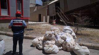 Van'da 4,5 ton uyuşturucu bin derecelik fırınlarda imha edildi