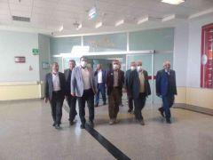 AK Parti'li Sabırlı'dan hasta ziyareti