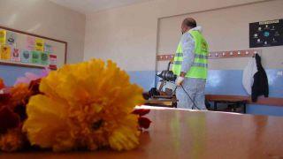 İpekyolu Belediyesi eğitim yuvalarını korona virüse karşı koruyor